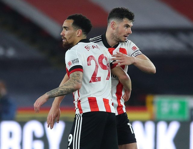 Kean Bryan has been offered a new deal by Sheffield United: Simon Bellis / Sportimage