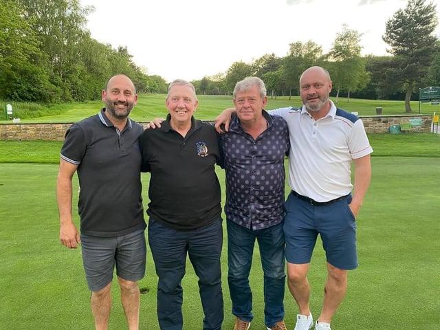 Pictured at Hillsborough Golf Club: Carl Pagden, John Anderson, Kevin Goss and Matt Shaw.
