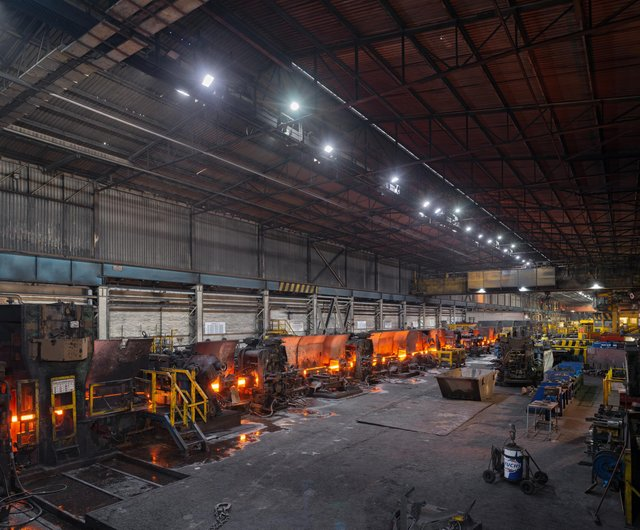 Furnaces at Liberty Steel in Rotherham.