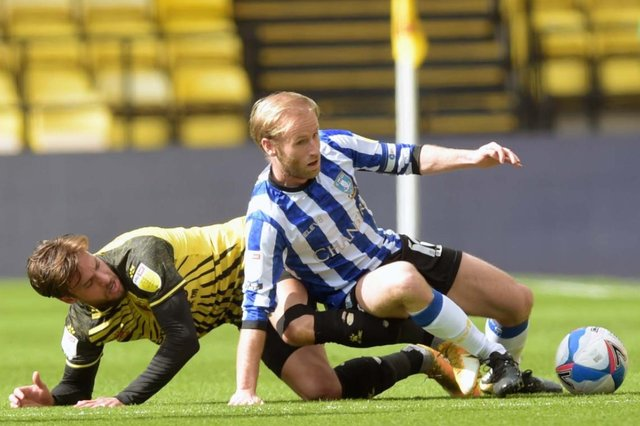 Sheffield Wednesday skipper Barry Bannan was the Owls' best player in their defeat at Watford.
