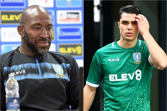 Darren Moore and Joey Pelupessy will face questions from the media this morning.
