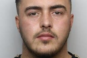 Pictured is James Westrop, aged 21, of Park Hill, Swallownest, Sheffield, who admitted breaching a restraining after it had previously been imposed with a suspended prison sentence for stalking and he has now been sentenced to 22 months of custody.