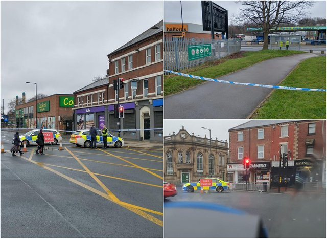 An 18-year-old man was shot on Queens Road, Sheffield, earlier this week