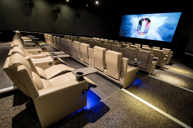 Are you sitting comfortably? These are the reclining seats at Odeon Luxe