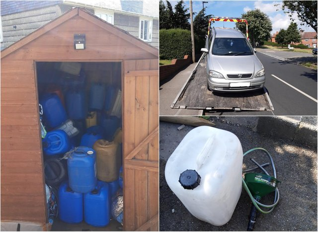 A police investigation has been launched into the theft of diesel across Sheffield