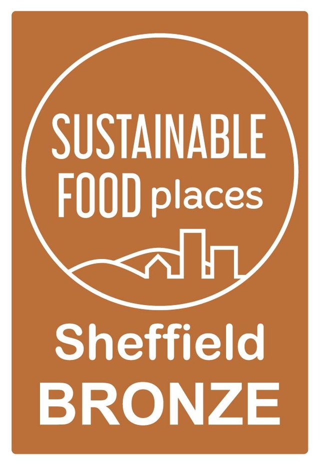 Sheffield has been awarded with the Sustainable Food Places Bronze Award 2021.