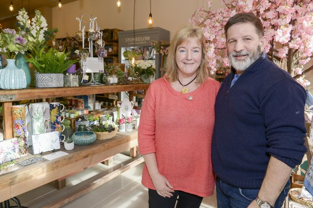 Wildwood on Fitzwilliam Gate in SheffieldOwners Lindsay and George in the shop