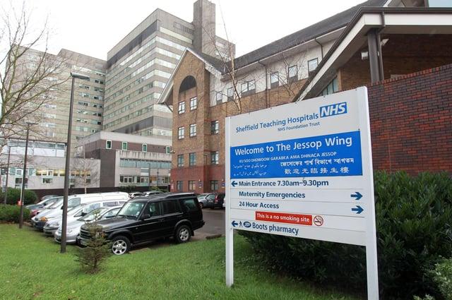 Sheffield Teaching Hospitals, The Jessop Wing.