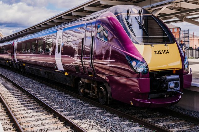 The first train from Sheffield to London St Pancras International will arrive an hour earlier, at 7.09am (pic: East Midlands Railway)