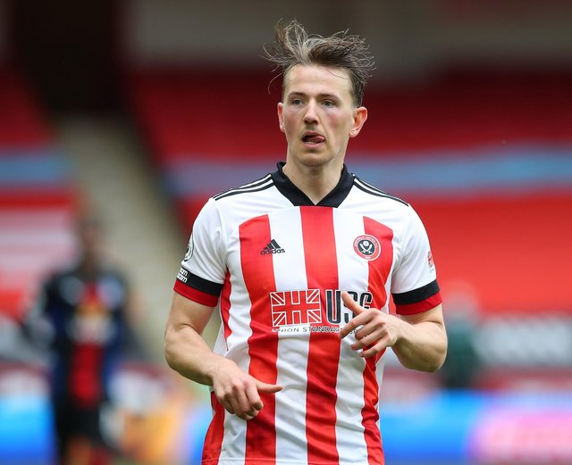 Sander Berge should have been awarded a penalty during Sheffield United's defeat by Crystal Palace: Simon Bellis/ Sportimage