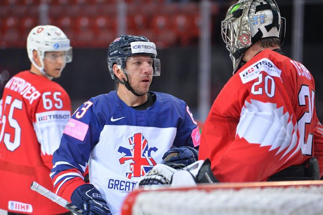 Brendan Connolly in GB action, pic by Dean Woolley