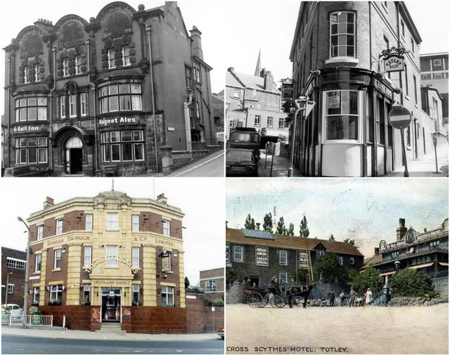 Looking back at iconic Sheffield pubs