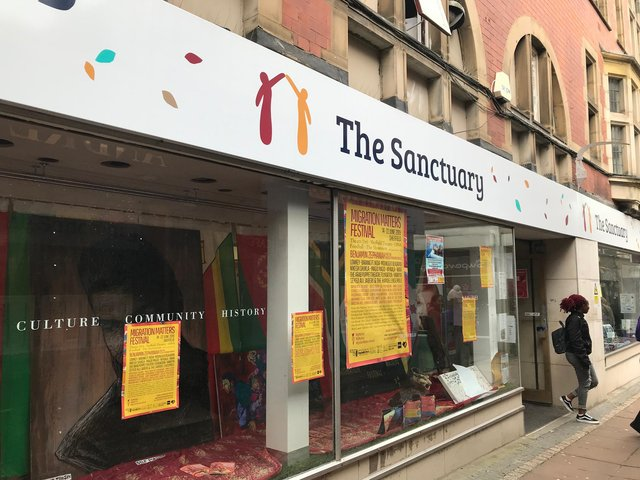 City of Sanctuary Sheffield helps asylum seekers and refugees resettle while providing them support and information.