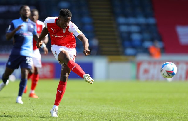 Chiedozie Ogbene of Rotherham United has been called into the Republic of Ireland squad. (Photo by Warren Little/Getty Images)