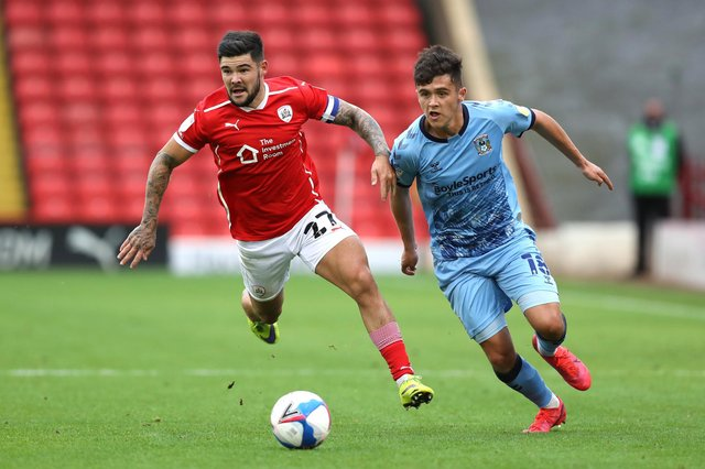 Ryan Giles, pictured in action during his loan spell for Coventry City, has joined Rotherham United until the end of the season from Wolves. (Photo by George Wood/Getty Images)