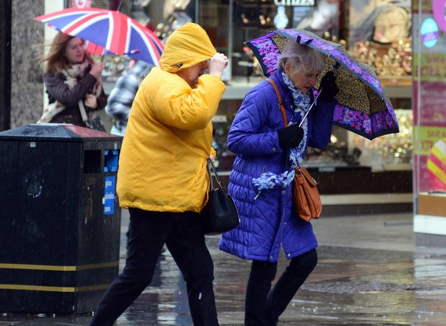 A yellow weather warning has been issued for Sheffield