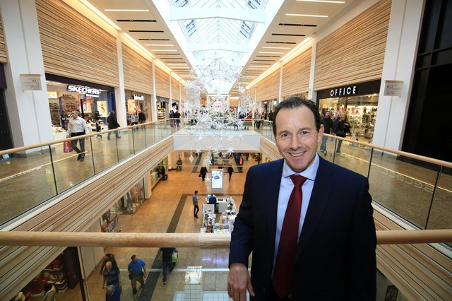 Centre director at Meadowhall, Darren Pearce.