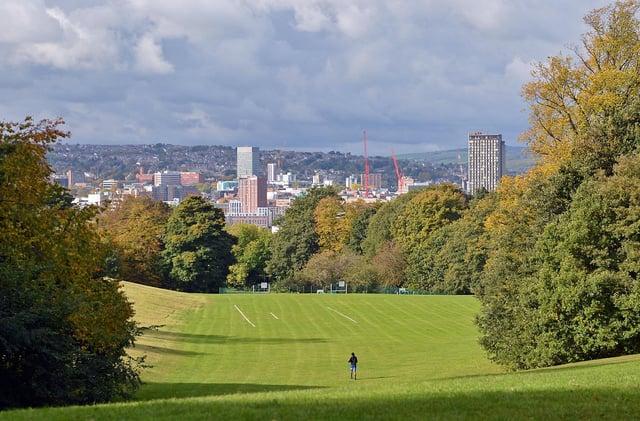 Sheffield Park awards. Norfolk Park.