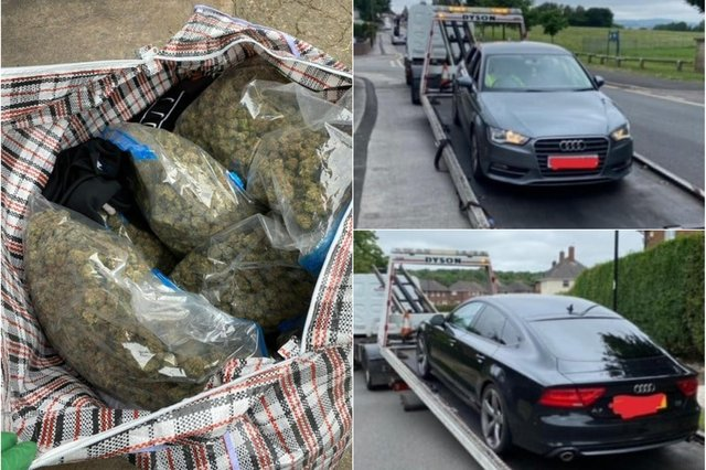 Drugs worth £40,000, weapons and cars were seized in a police operation in Sheffield
