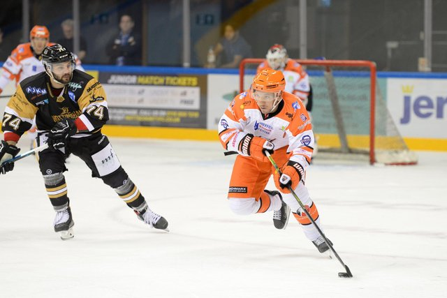 Brendan Connolly is back at Sheffield Steelers for th EIHL mini-series