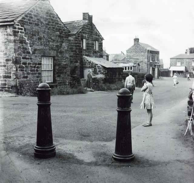 A view of Luke Lane, Wadsley Village, July 5, 1967