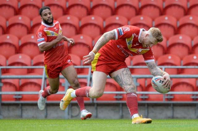 Sheffield Eagles led an eight-point second-half lead slip against Batley Bulldogs.