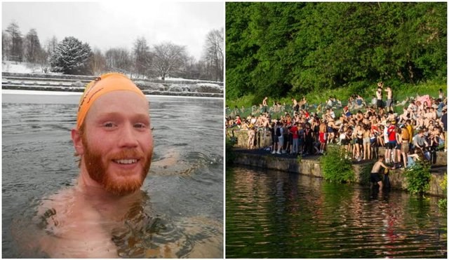 Owen Hayman has been campaigning for recognised swimming access at Crookes Valley Park for several years