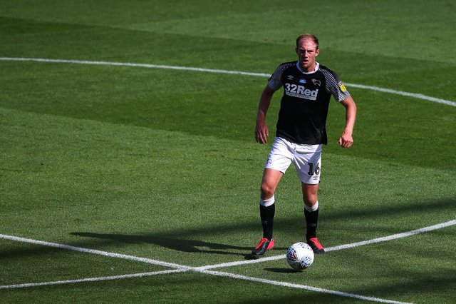 Matt Clarke has spent two seasons on loan at Derby County (Alex Livesey/Getty Images)