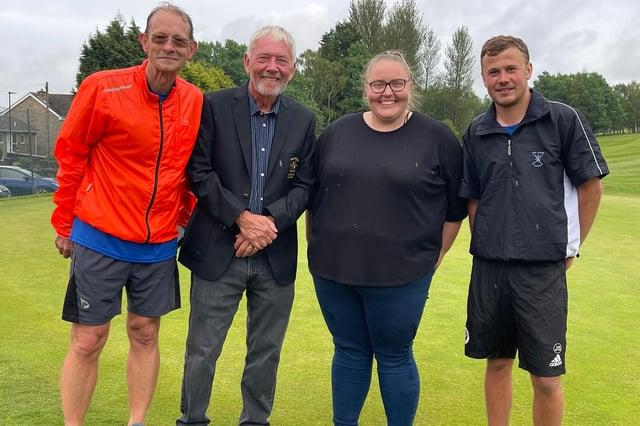 Golfers Complete 10 Round Challenge Marathon