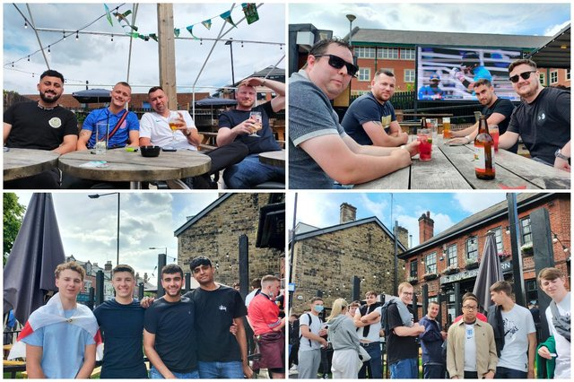 The fans out on Ecclesall Road made this Sheffield newcomer feel welcome on his trip to the famous pub heavy street.