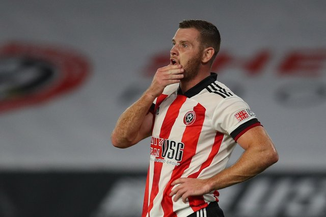 Jack O'Connell missed all but two of Sheffield United's matches last season as the Blades went down: Simon Bellis/Sportimage