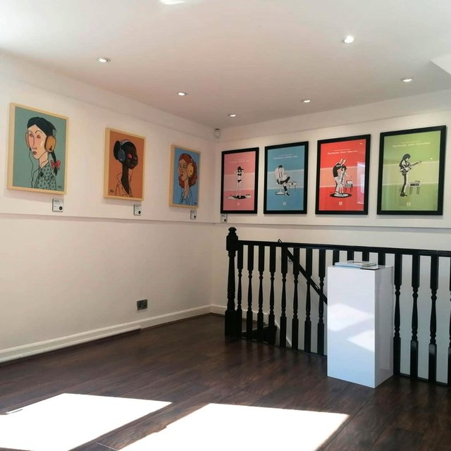 Pete McKee's art gallery on Sharrow Vale Road has extended its opening hours
