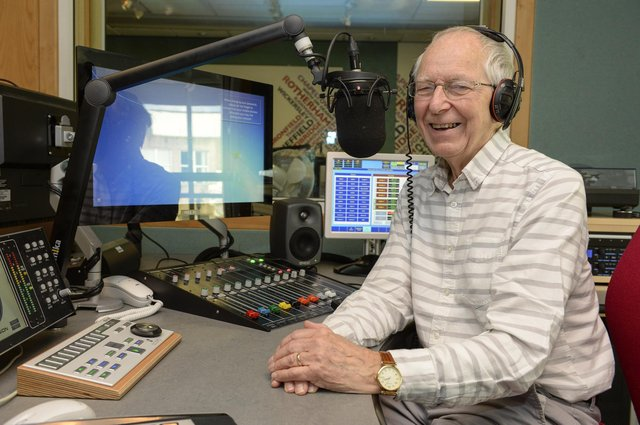 Radio Sheffield presenter Gerry Kersey. Picture: Dean Atkins