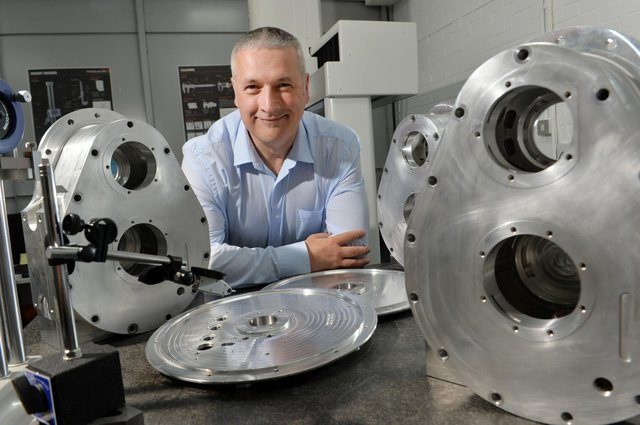 Magtec founder Marcus Jenkins.  Picture Bruce Rollinson