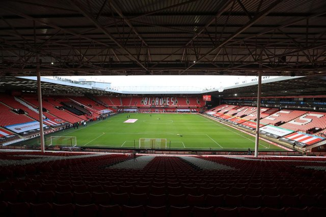 Bramall Lane, the home of Sheffield United Football Club. (Photo by Mike Egerton - Pool/Getty Images)