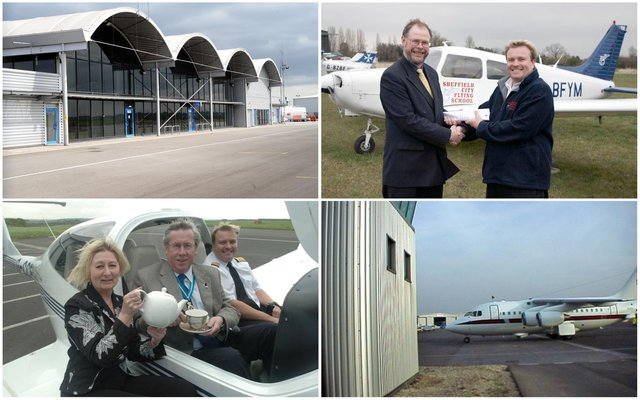 Sheffield City Airport, which was open for just 11 years