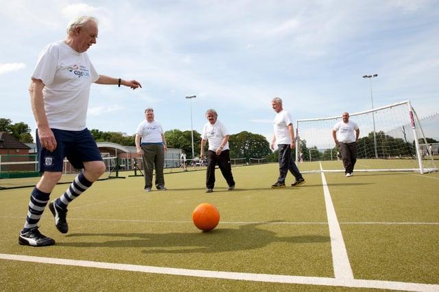 Age UK Sheffield kicks off new walking football programme