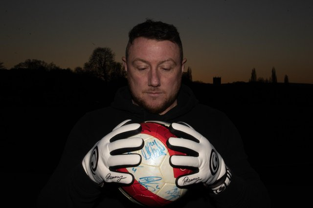 Paddy Kenny, the former Sheffield United and Leeds goalkeeper - Richard Markham Photography