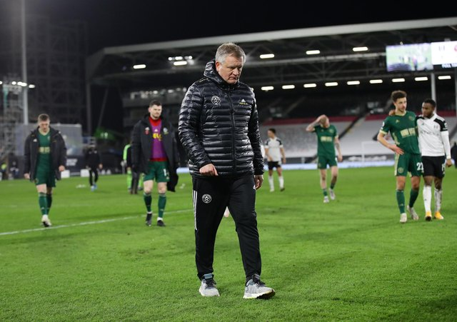 Chris Wilder has refused to provide any guarantees that he will remain in charge of Sheffield United next season: David Klein/Sportimage