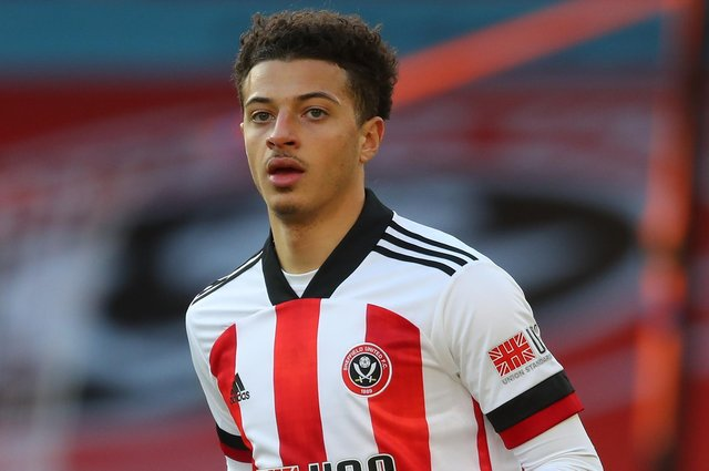 Ethan Ampadu hopes to be available for selection when Sheffield United travel to West Bromwich Albion: Simon Bellis/Sportimage