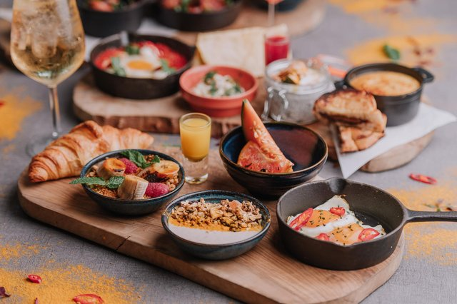 Just some of the brunch options on offer at The Furnace. Photo: Jack Kirwin -JK Photography