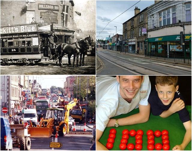 Hillsborough Corner over the years