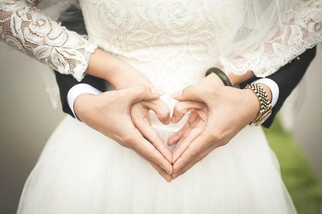 Wedding image. Credit Pixabay.