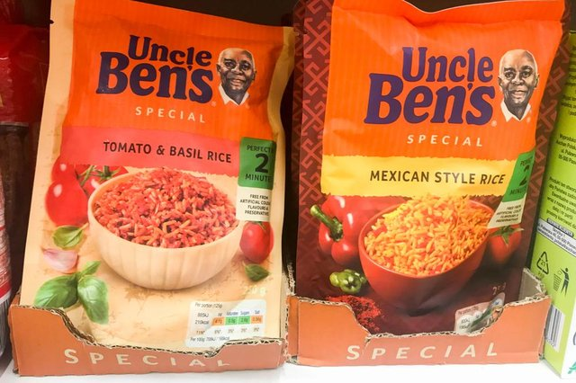 Uncle Ben's rice is changing its name due to criticism regarding racial stereotyping (Photo: Shutterstock)