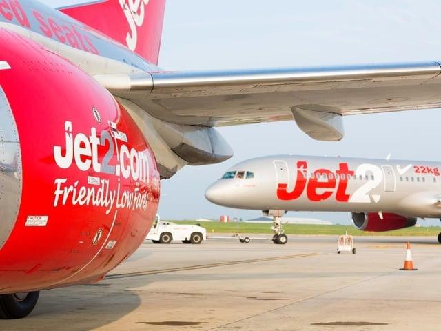 Jet2 planes.