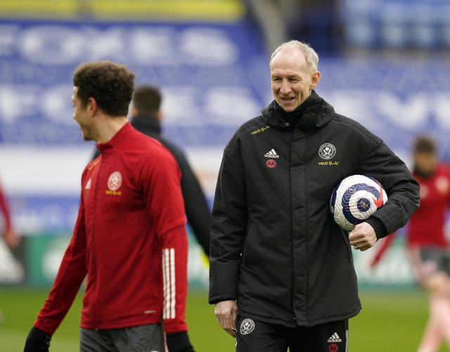 Alan Knill was Chris Wilder's assistant at Sheffield United: Andrew Yates/Sportimage