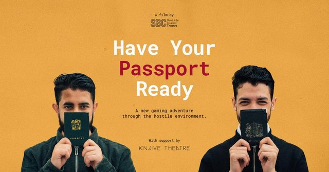 Interactive game Have Your Passport Ready