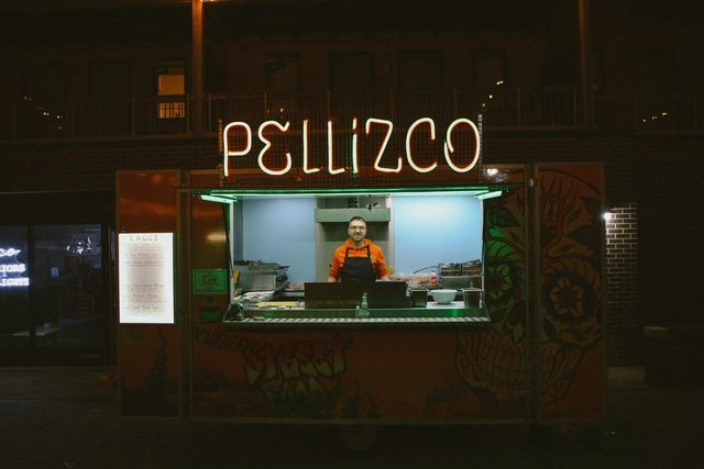 Danny Pinch is Best Newcomer in the British Street Food Awards.