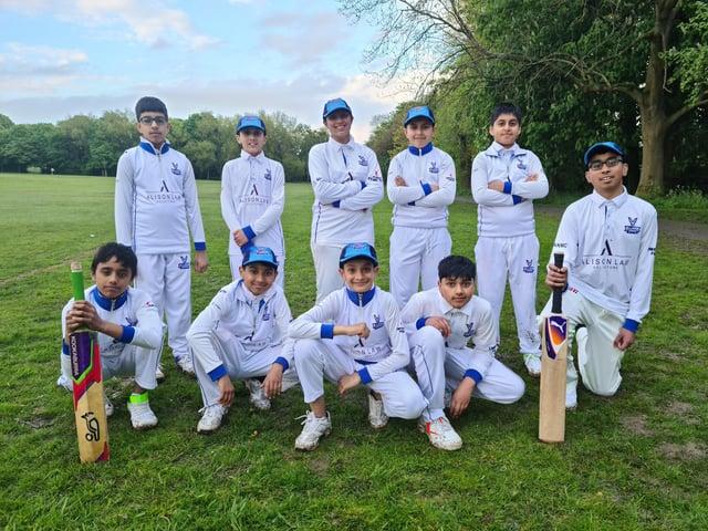 Allama Iqbal Cricket Club under-13s.