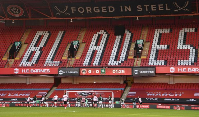 Bramall Lane, the home of Leeds United Football Club. (Photo by Stu Forster/Getty Images)